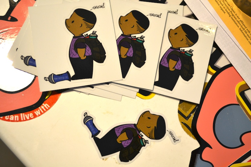 Fresh Boy Jeary! Sticker