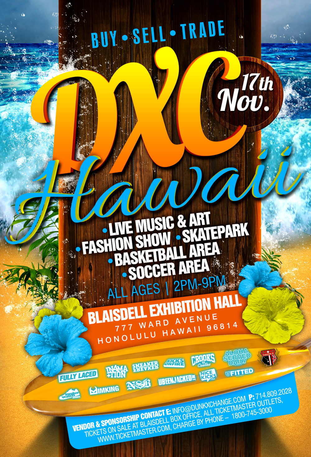 DXC Hawaii Edition   *Teaser flyer* the official one dropping soon.