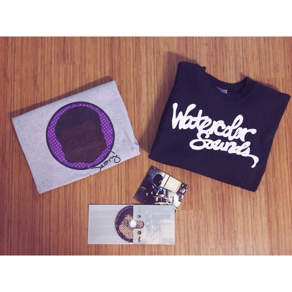 Jeary For Dolo, Jeary! Tee & Watercolos Sounds Crew neck