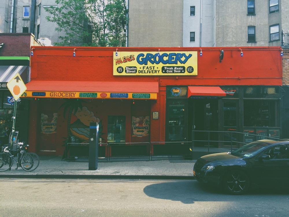 Arlene's Grocery in NYC's Lower East Side.
