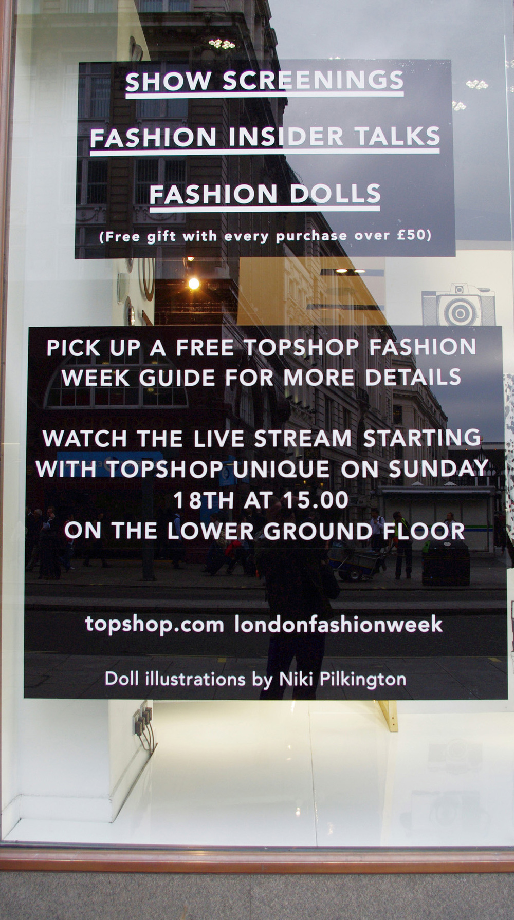TOPSHOP / Oxford St. Graduate Fashion Week