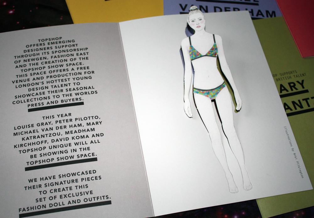 TOPSHOP / Paper dolls