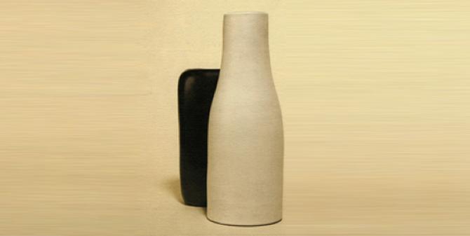 Georges Jouve  Minimalist Ceramic Works   Galerie L'Arc en Seine, NY 20 octobre - 22 décembre 2005