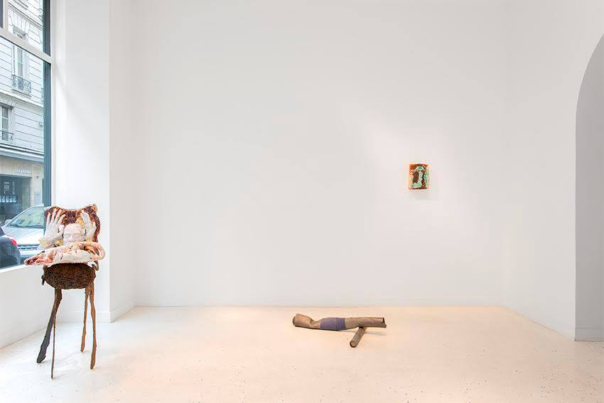 Exhibition's view -  Jean-Marie Appriou, Michaela Meise, Katinka Bock