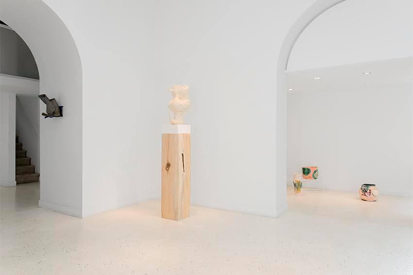 Exhibition's view -  Arlene Shechet, Michaela Meise, Katinka Bock, Claudia & Julia Müller