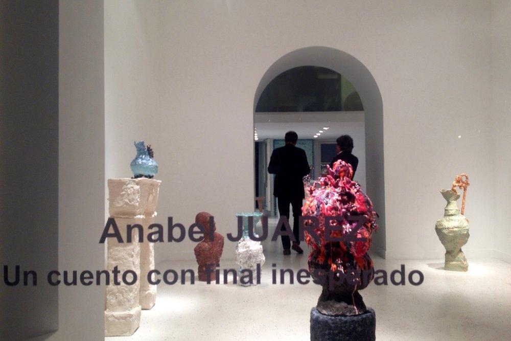 Vue de la galerie, pendant le vernissage du mardi 6 septembre 2016.