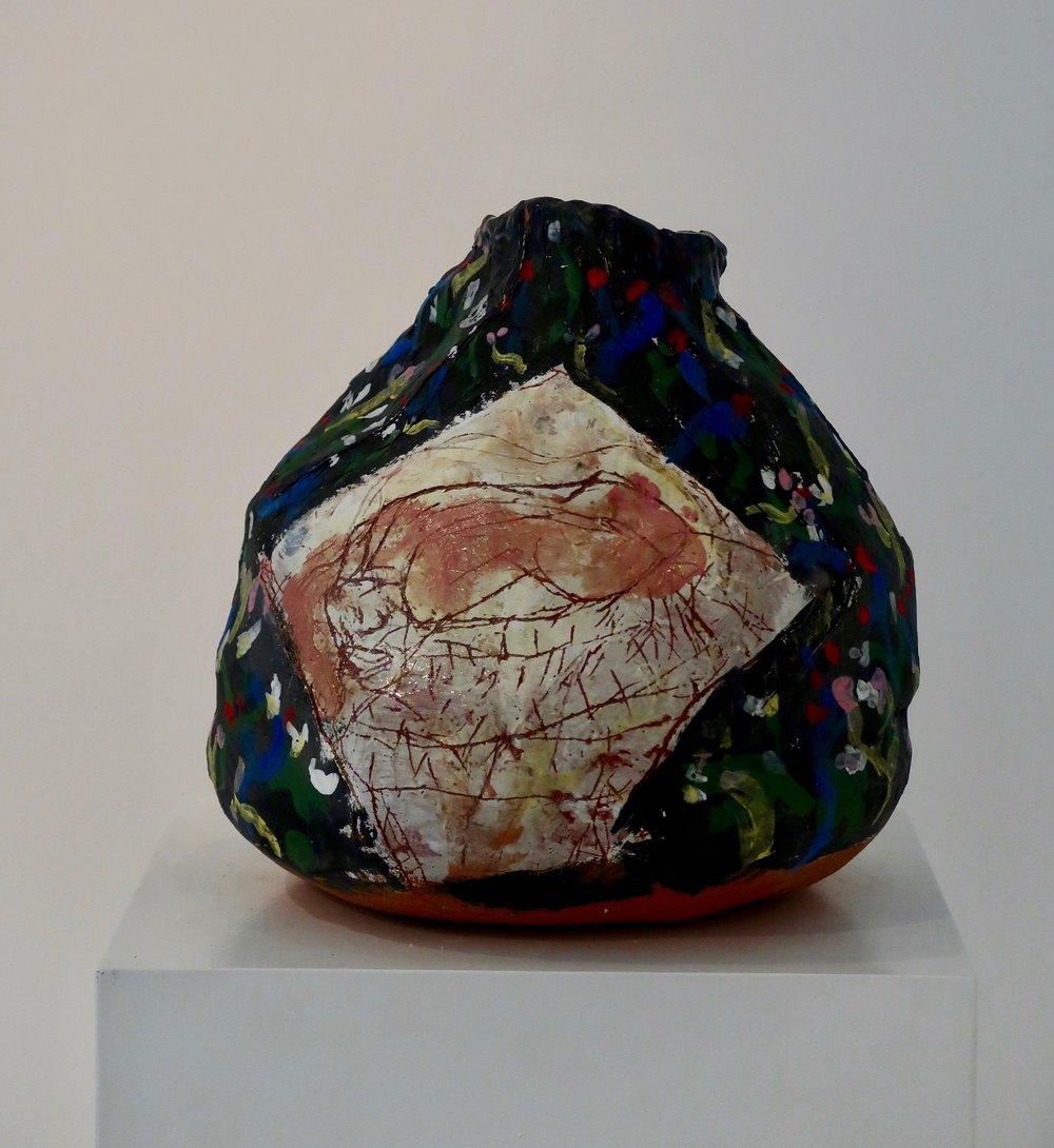 JR#07, Back ans Trees, 2018, Glazed Stoneware, 11.8 x 10.2 in (2).jpg