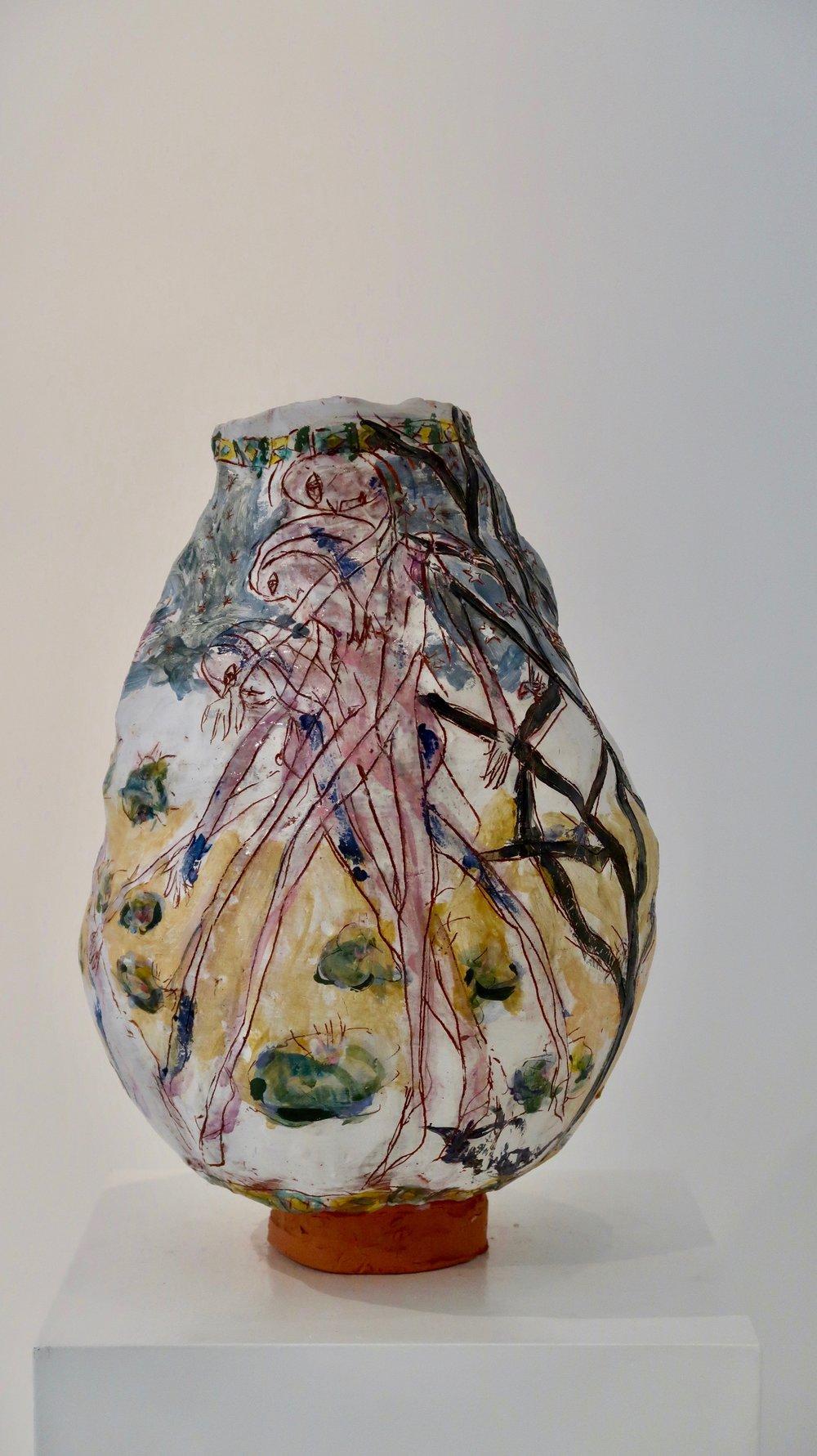 JR#10, Water Lillies, Glazed Stoneware, 17.3 x 10.2 in (1).jpg