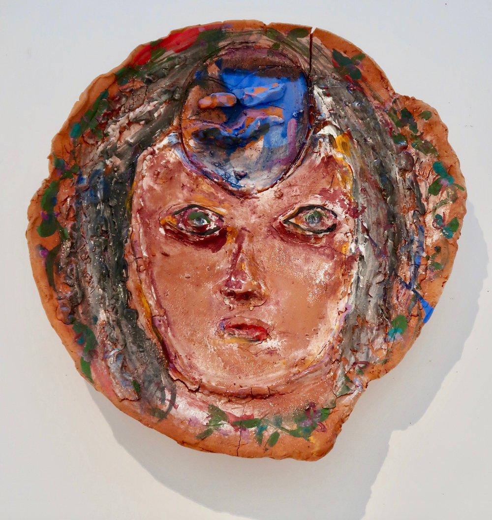 JR#12, Barcelona, 2018 Glazed Stoneware, 19.5 x 19.5 in.jpg