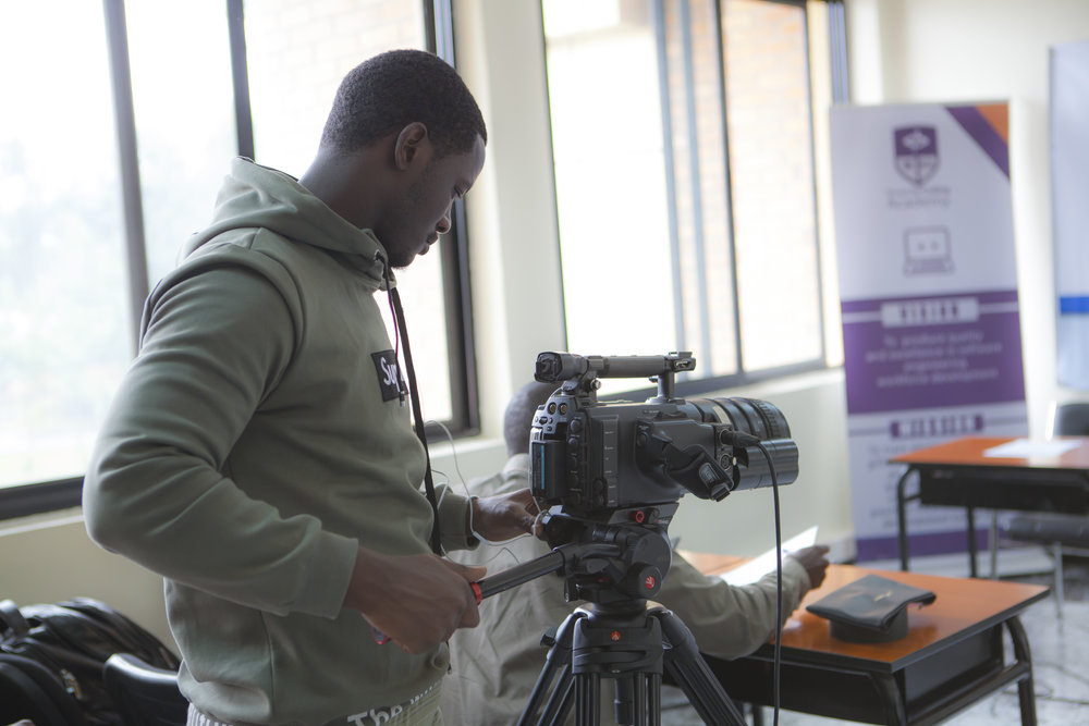 Bruce Nshimiyimana on Sony F3.JPG