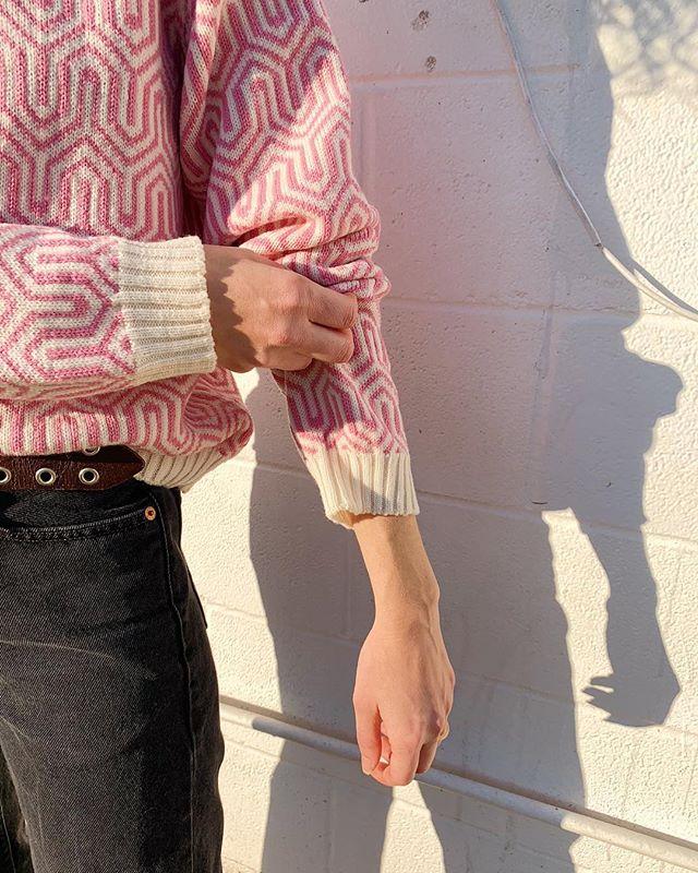 January sweater drop coming soon . . . #knitwear #slowfashion #maximalist