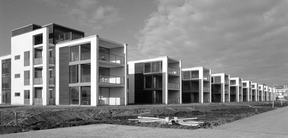 Bedste Nybyggeri 1999 Boligbebyggelsen på Langelinie i Horsens, præmieret som bedste nybyggeri i 1999 af Horsens Kommune.
