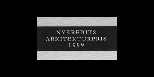 Nykredits Arkitekturpris 1999 DISSING+WEITLING modtager Nykredits Arkitekturpris.