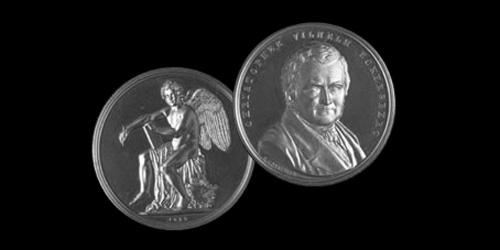Eckersberg Medaillen 1978 Hans Dissing + Otto Weitling tildeles Eckersberg Medaillen.