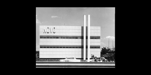 BDA-prisen Rheinland-Pfalz 1972 Novo-fabrikken i Mainz tildeles BDA-prisen(Bund Deutcher Architekten) i Rheinland-Pfalz.