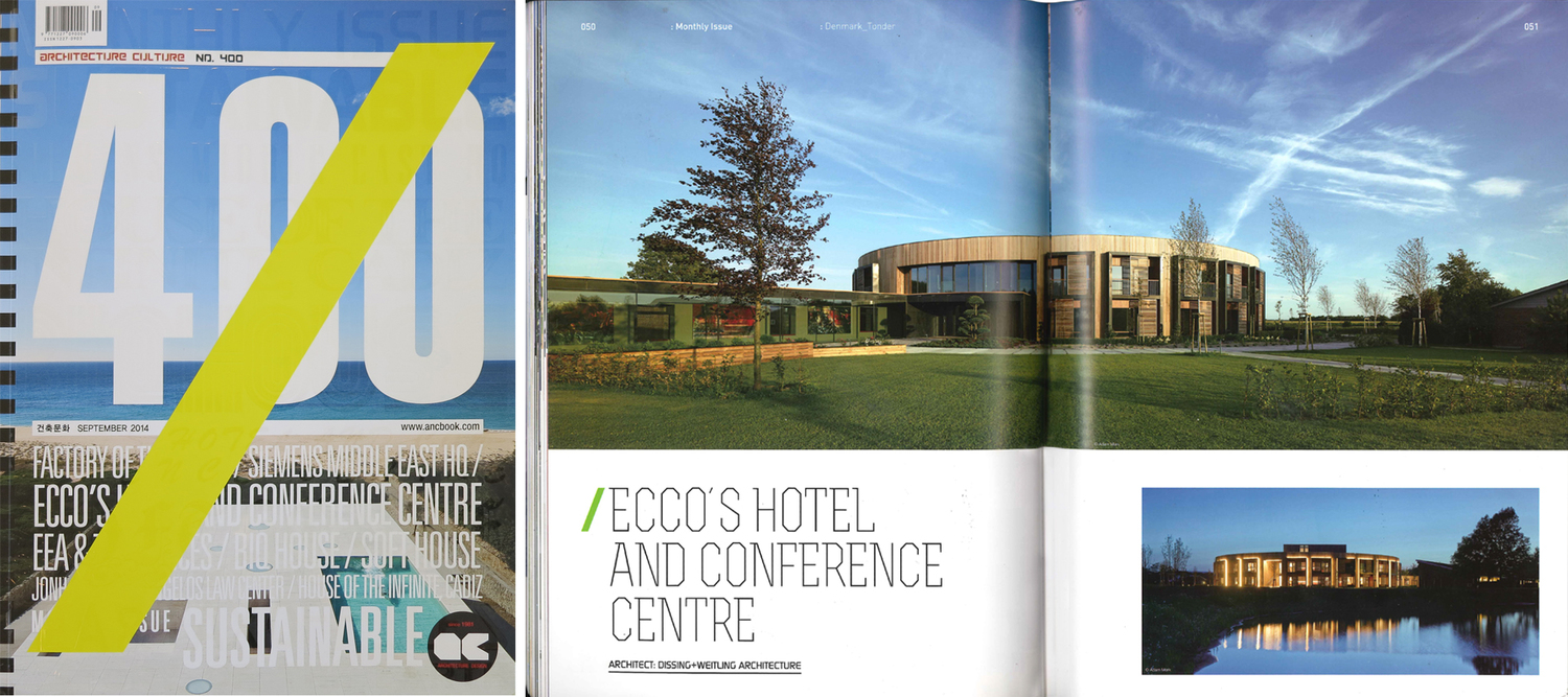 ecco s hotel and conference centre published in architecture culture