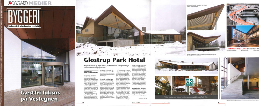 For more information: Glostrup Park Hotel