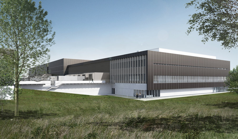 Novo Nordisks kommende PS Warehouse i Hillerød