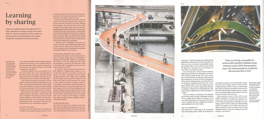 For more information:  The Bicycle Snake  /  Xiamen Bicycle Skyway
