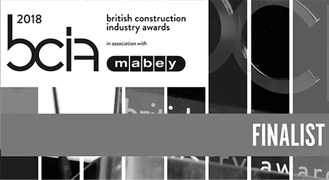 Transport Project of the Year, BCIA 2018    Queensferry Crossing  is nominated for the 2018 British Construction Industry Awards in the category Transport Project of the Year.