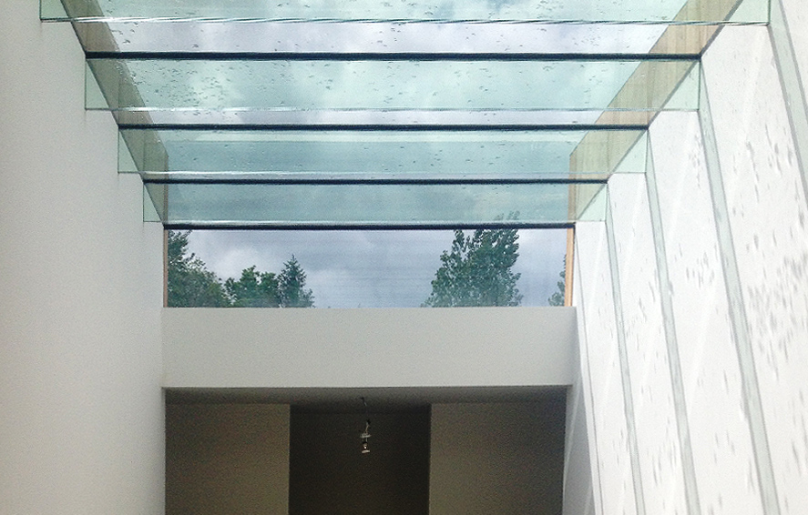 Structural Frameless Glass Systems : Glazed roof detail structural glazing system sc