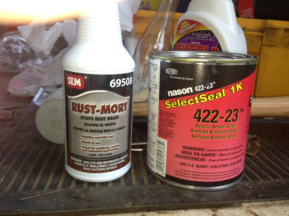SEM Rust-Mort and Nason SelectSeal