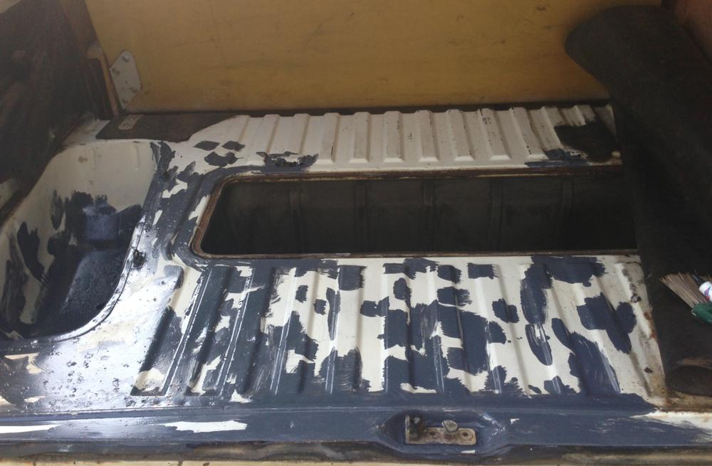 Sealed trunk.