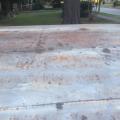 semi-rusty roof