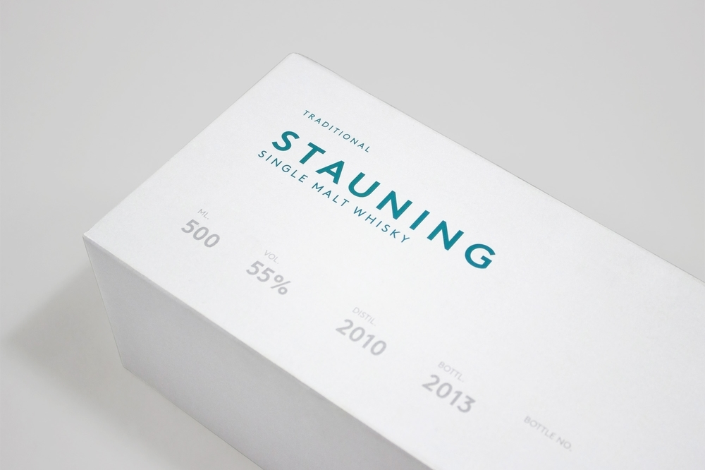 Stauning Whisky Branding, Packaging