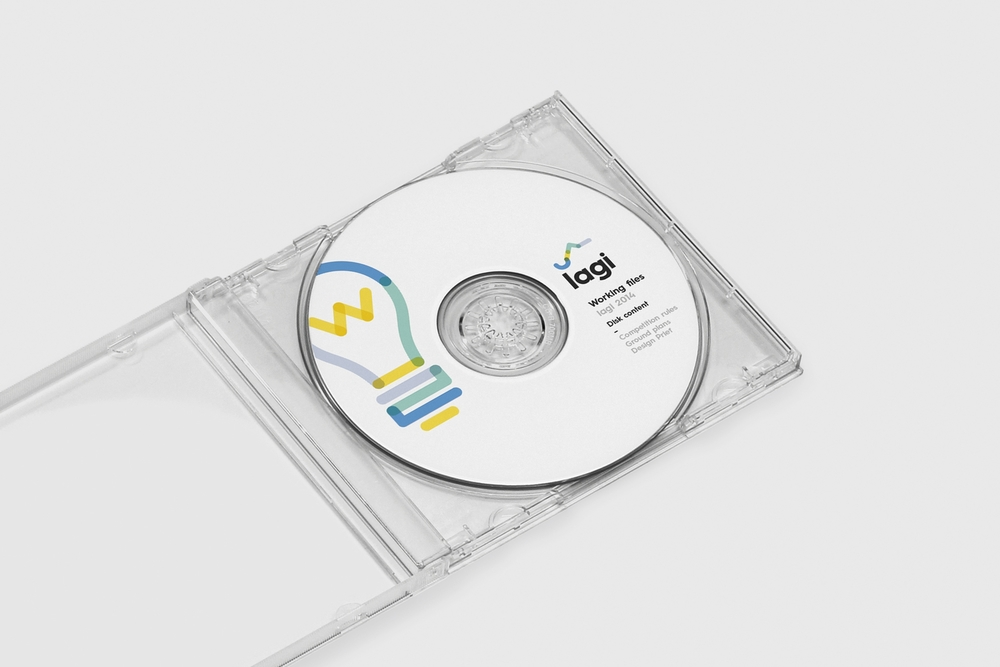 Land Art Generator Initiative Branding, Icon design, editorial