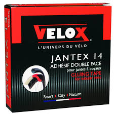 Each packet of Jantex 14 includes enough tape to glue a full wheelset.