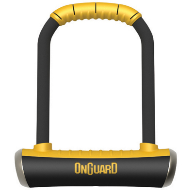 "8001 Brute LS U-Lock - offers a X4P Quattro Locking Mechanism for four-sided protection, and a longer 115x202mm (4.53"" x 7.96"")  It's perfect for powersport applications. Shackle Dimensions: (W x H x Diam) 111mm x 260mm (4.53"" x 7.96"") x 16.8mm (0.66"")Shackle Dimensions: 115mm x 202mm (W x Hx Diam) (4.53"" x 7.96"") x16.8mm (0.66"") D."