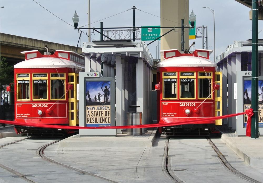 New Loyola Streetcar Rail System, New Orleans, LA