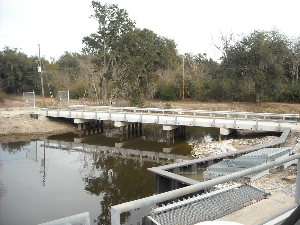 Ollie Drainage Pump Station, Jesuit Bend, LA