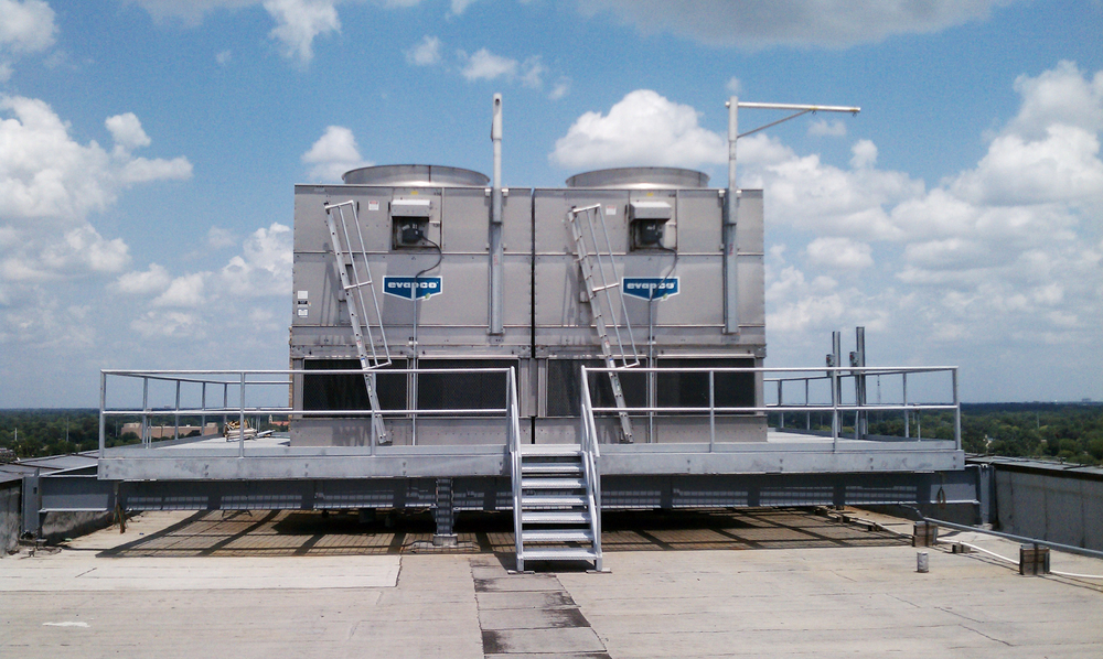 State Office Building Cooling Tower Platform, Baton Rouge, LA