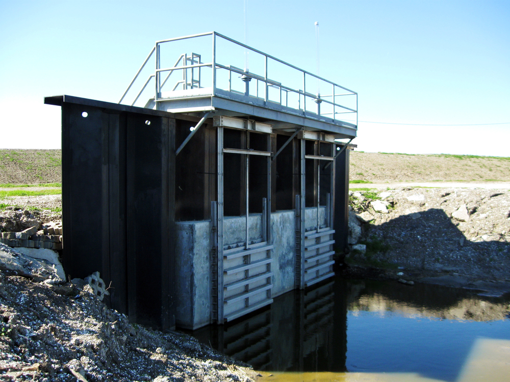 Fort Jackson Drainage Sluice Gates, Plaquemines Parish, LA