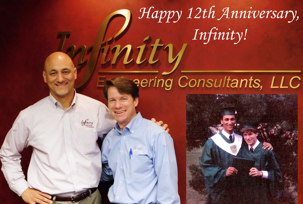 Principals Raoul Chauvin, left, and Bill Thomassie have a long lasting friendship and partnership that makes Infinity a great company to work with and work for.
