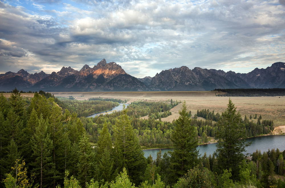 Snake River Sunrise, Grand Teton National Park, Wyoming