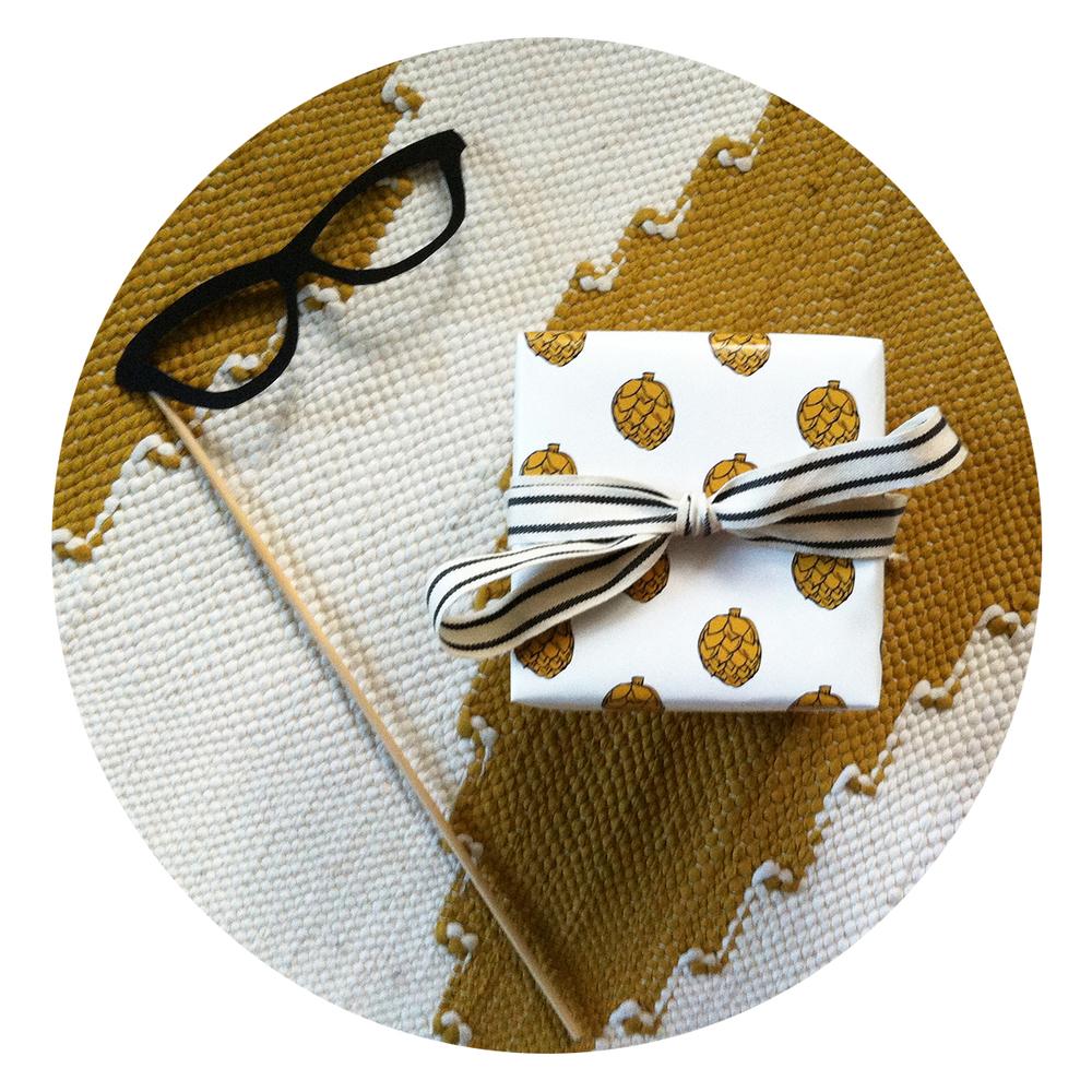 Artichoke my Heart Gift Wrap