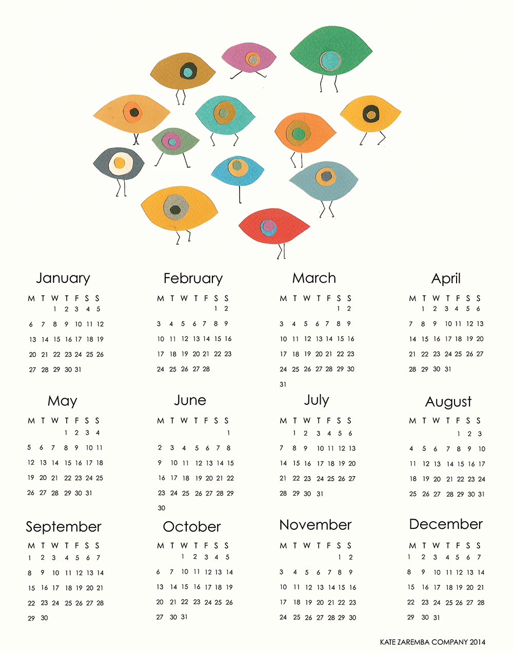 DancingEyes2014CalendarforEtsy.png
