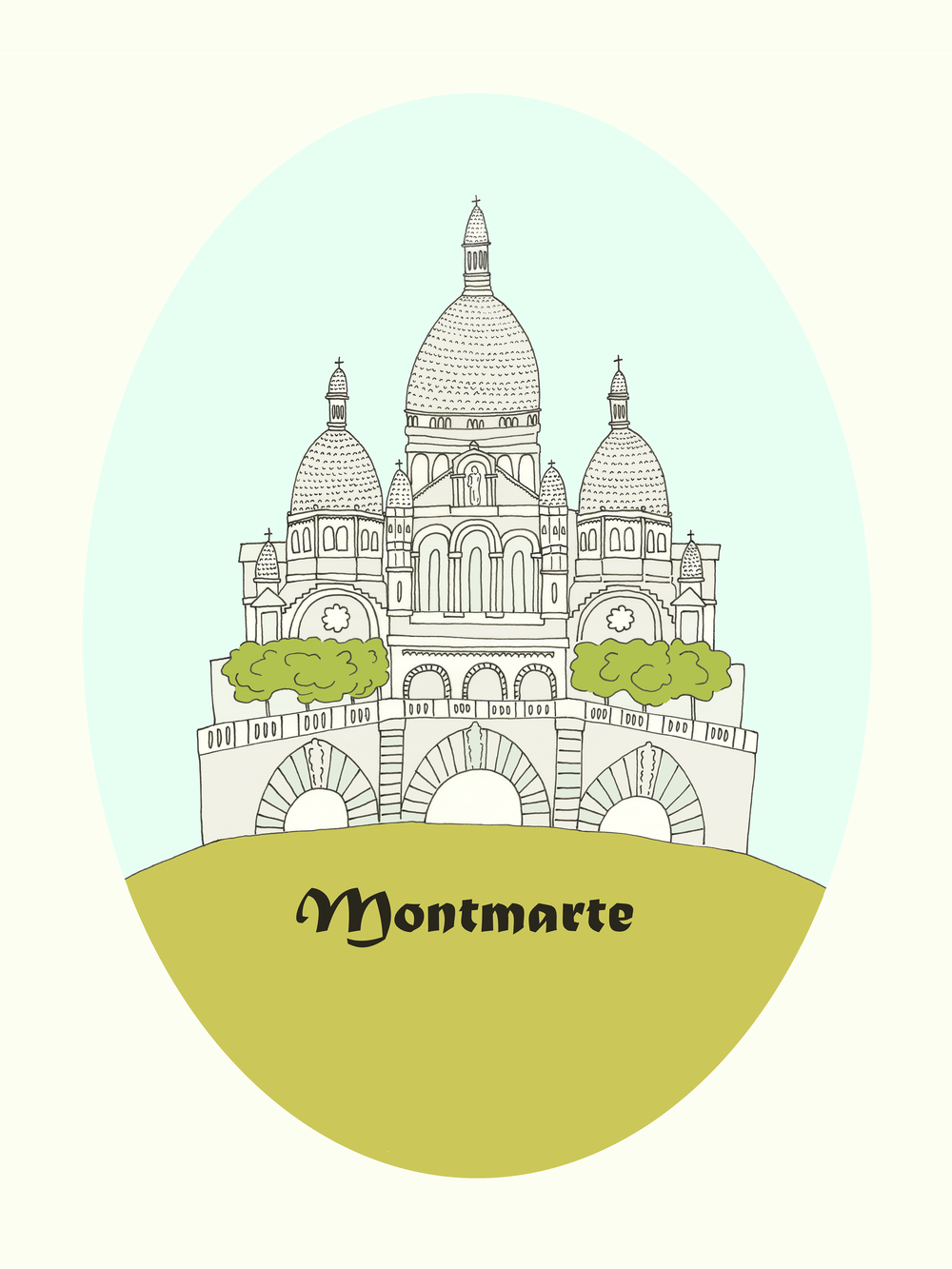 Montmarte by Kate Zaremba