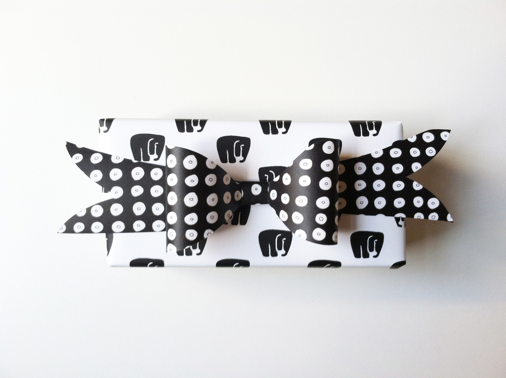 Elephant Gift Wrap by Kate Zaremba COmpany 2014