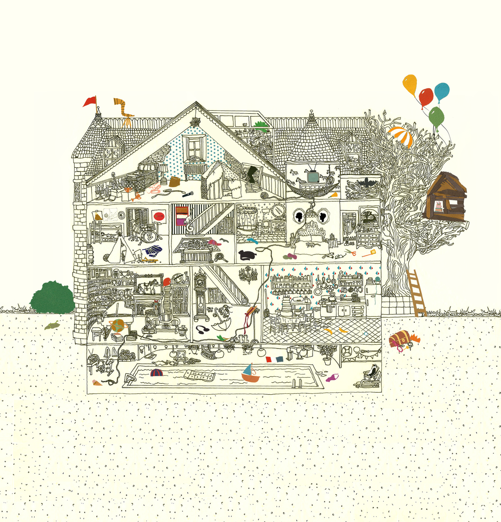 House of Fun. Illustrated by Kate Zaremba 2012