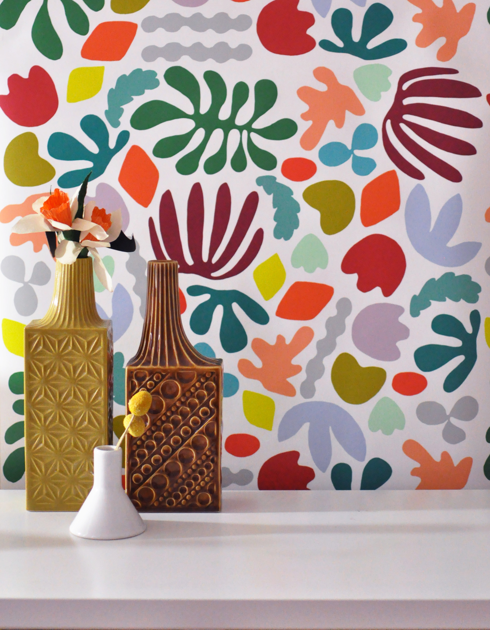 Matisse is my muse wallpaper by Kate Zaremba Company