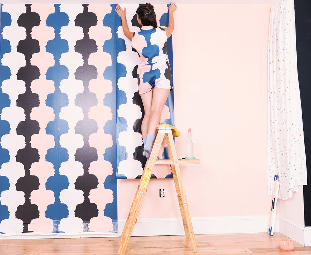 KZ Wallpaper Tips. Photo cred Kate Warren