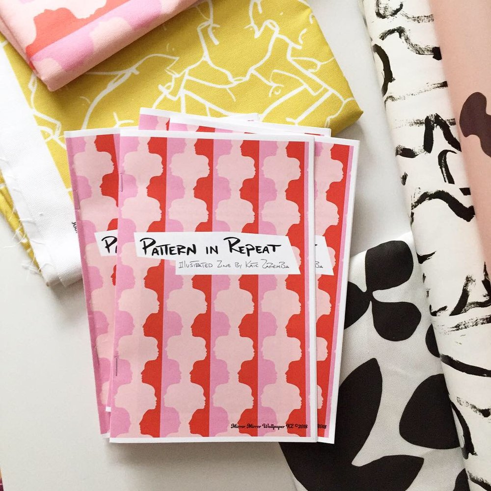 Get your own pattern in repeat zine!