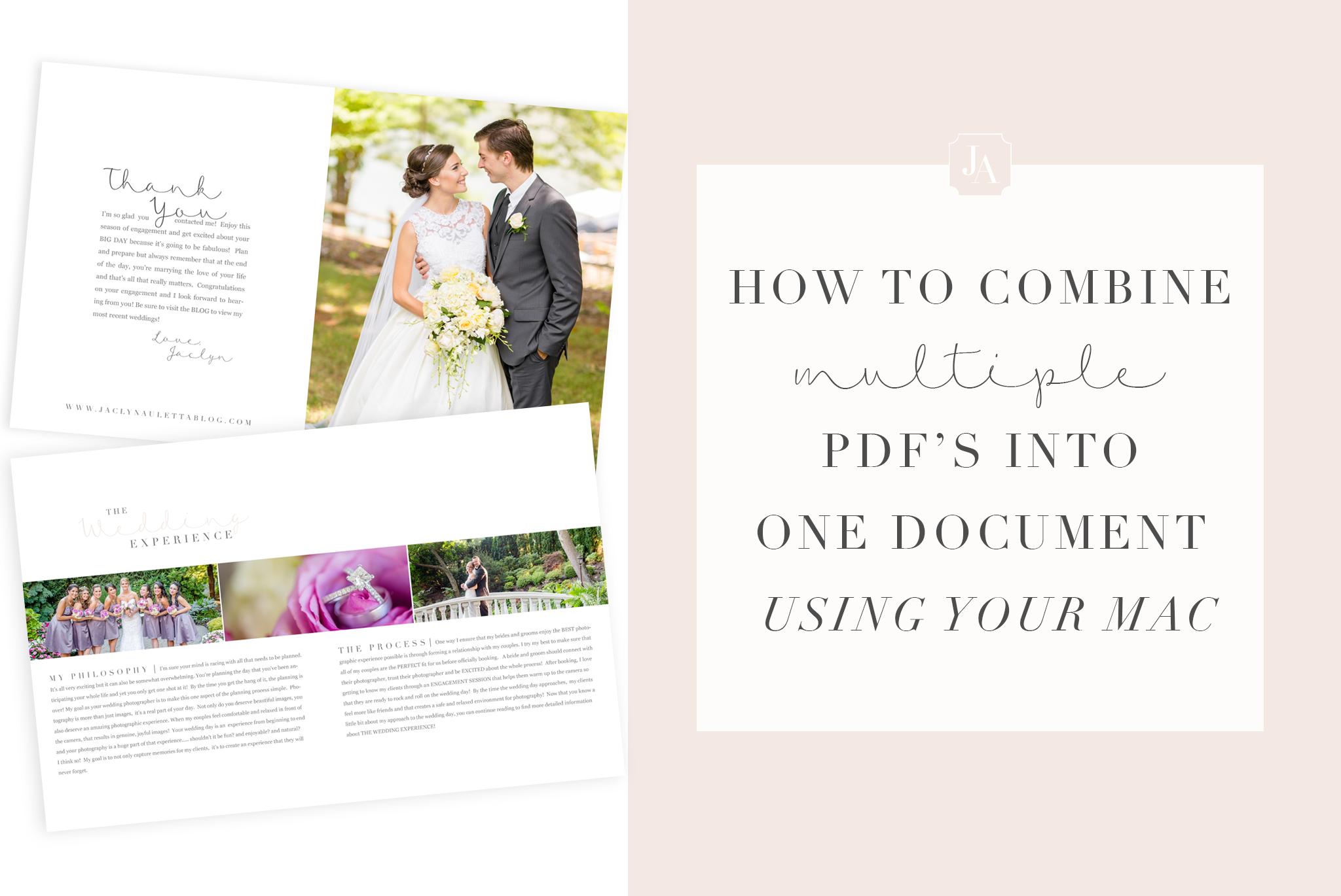 How to magically make six PDFs turn into one document