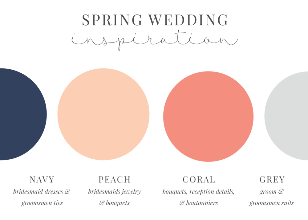 spring color palette inspiration raleigh wedding photographer
