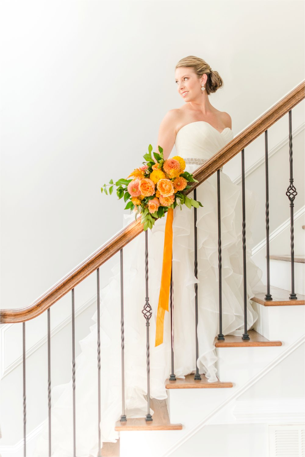 Classic Bridal Portrait Raleigh North Carolina Wedding Photographer Jaclyn Auletta Photography