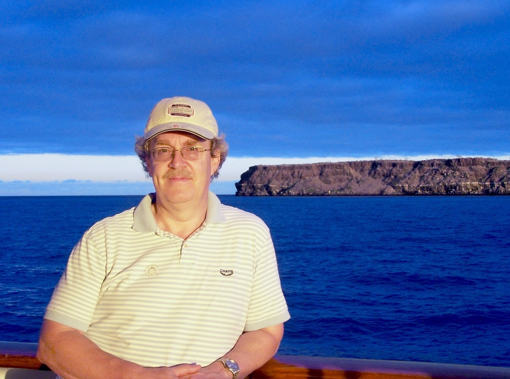 Karl in the Galapagos, 2012